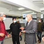 محافظ قنا يتفقد «المستشفى العام» لمتابعة مستوى الخدمات المقدمة للمواطنين