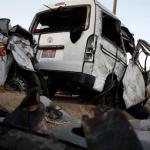أسماء ضحايا حادث انقلاب «ميكروباص» في بني سويف