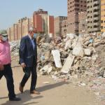 القليوبيه     إزالة 120 طن قمامة من شوارع «الخصوص»