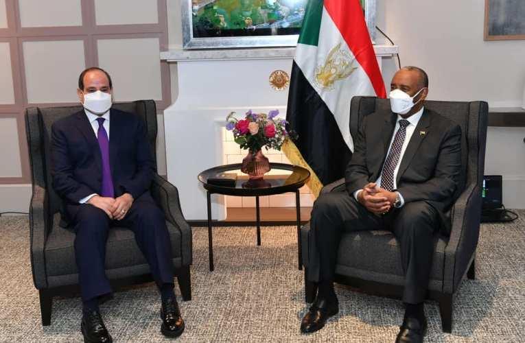 السيسي يؤكد للبرهان على الارتباط الوثيق للأمن القومي المصري والسوداني