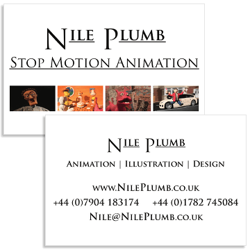 Nile Plumb's Business Contact Card