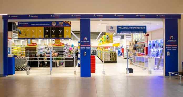 Carrefour Uganda's store in Naalya
