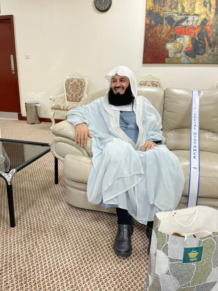 Renowned Muslim cleric Mufti Menk arrives in Uganda