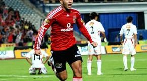 Emad Meteb,goa,Ahly,friendly,Sport Academy