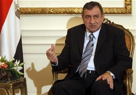 Egyptian Prime Minister Essam Sharaf