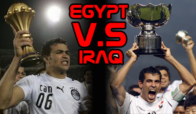 Egypt vs Iraq