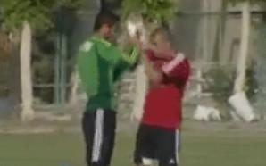 Mohamed Zidan,Ahmed El-Shennawi, training camp