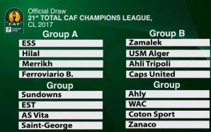 Al Ahly & Zamalek drawn in difficult Groups | CAF…
