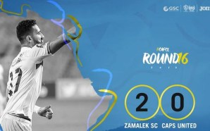 Zamalek 2-0 CAPS United | CAF Champions League | VIDEO