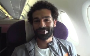 Mohamed Salah records #LFC's journey to Hong Kong | VIDEO