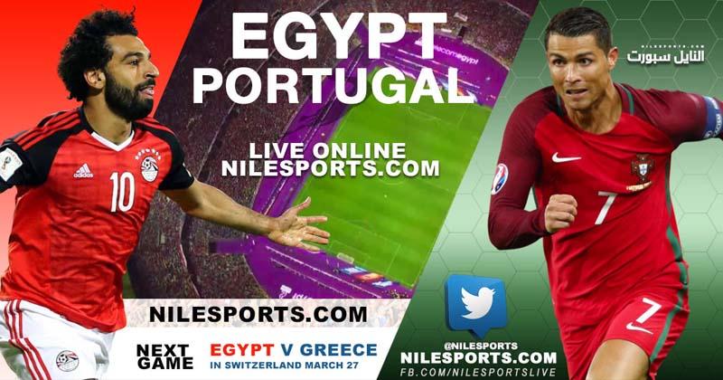 Egypt v Portugal