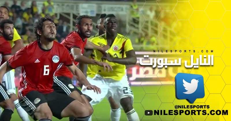 Egypt v Colombia