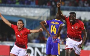 Coulibaly scores the winning goal for Al Ahly against Township…