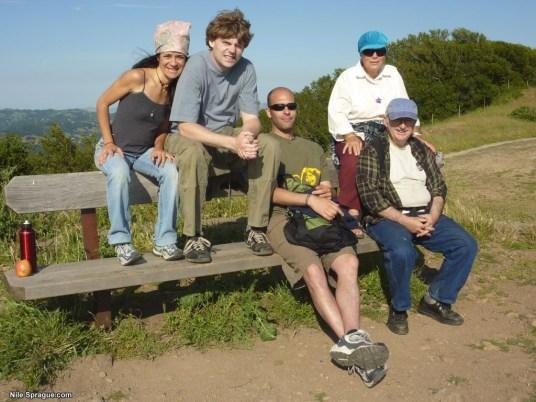 Alessandra, Kurt, Jonah, Gail, and Steve (left to right)