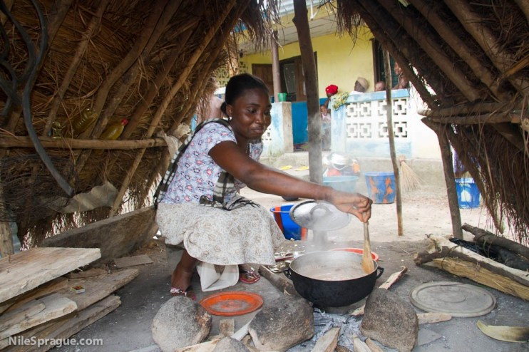 Filda Mbayo, 25, culinary, Makeni, Sierra Leone. Photo © Nile Sprague