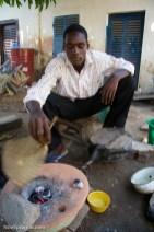 Adogli Koffi Madard, 24, jeweler, LomŽ, Togo. Photo © Nile Sprague
