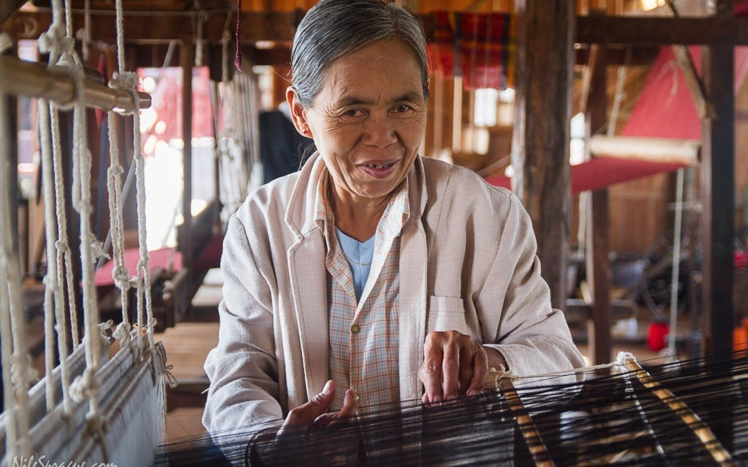 Weaving, Cheroots, Tourism, Temples and Jewelry, Inle Lake, Myanmar