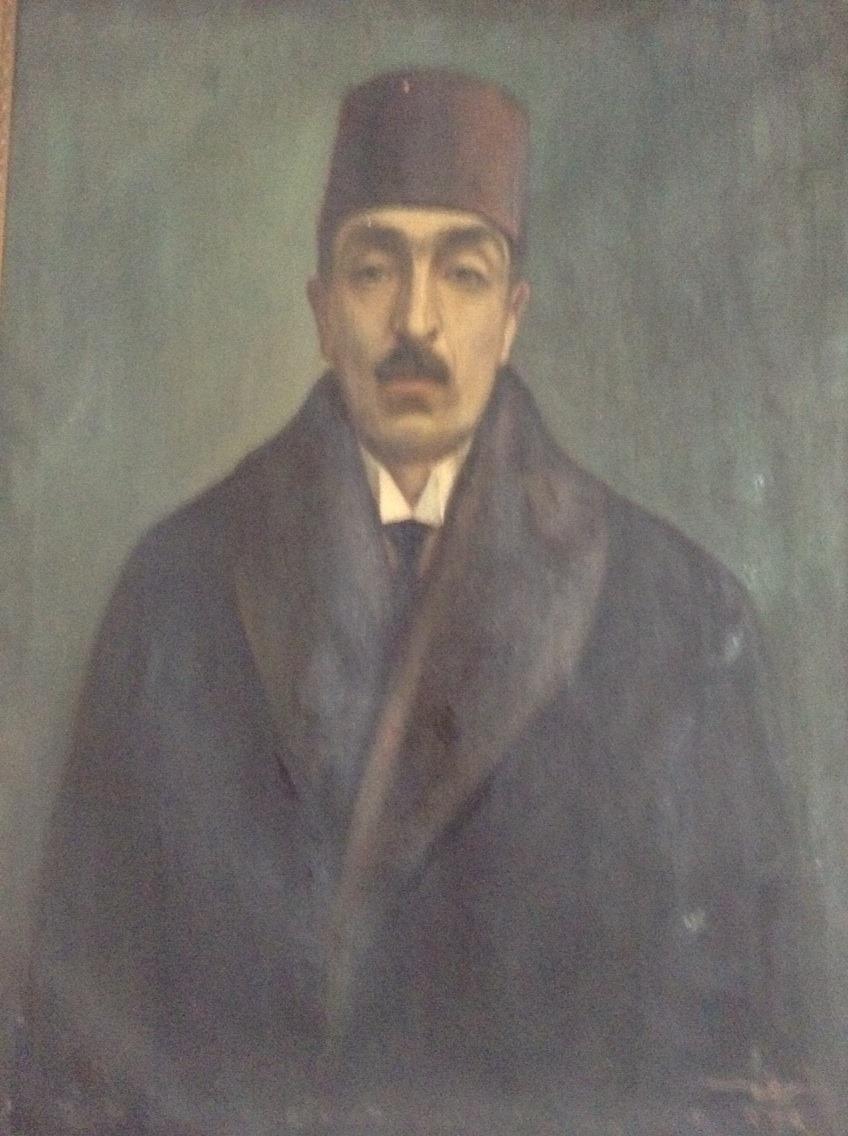 Arif Zeki Bey, Şeref Akdik'in yaptığı portrede