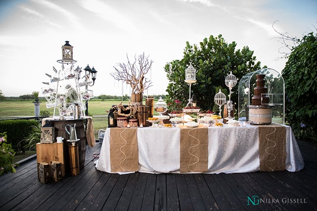 Hacienda Campo Rico Yellow And Gray Wedding Nilka