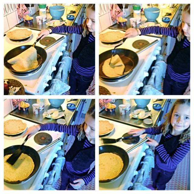Hur man vänder en pannaka!