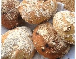 Havrefrallor med russin (gluten-, mjölk-, ägg-fria)1