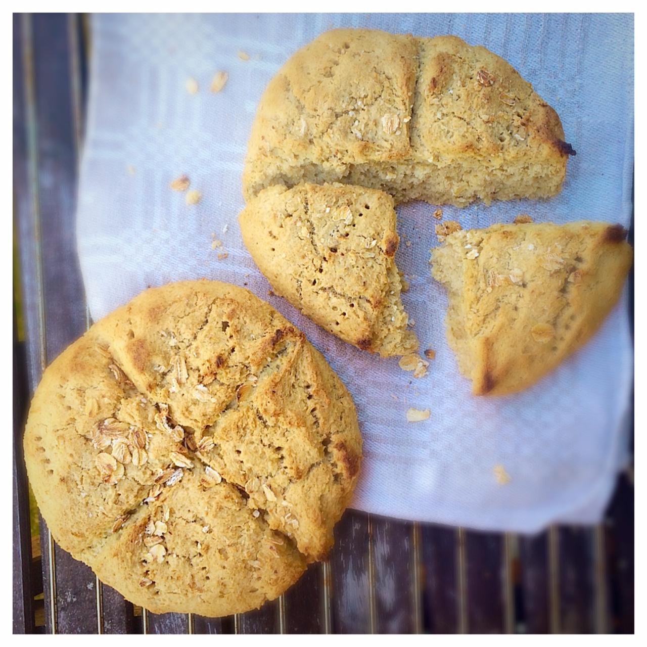 glutenfria scones mandelmjöl