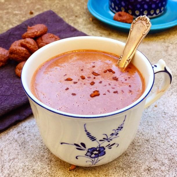 varm choklad, cashewchoklad (vegan, mjölkfri)