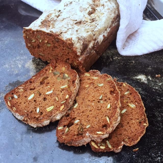glutenfritt bröd med teffmjöl