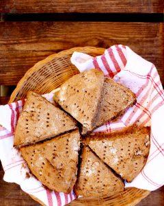 Naturligt glutenfria fullkornscones scones