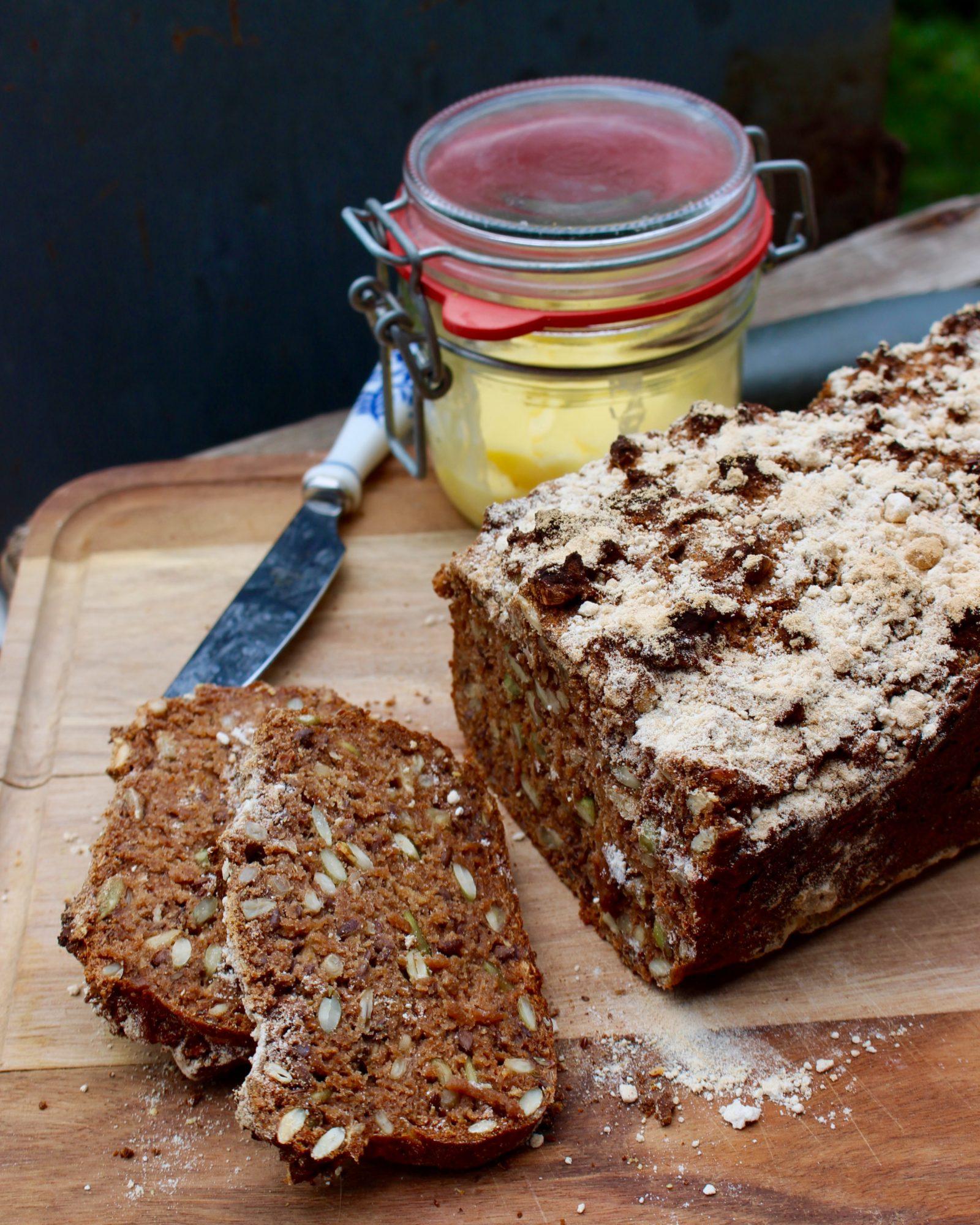 recept danskt rågbröd utan vetemjöl