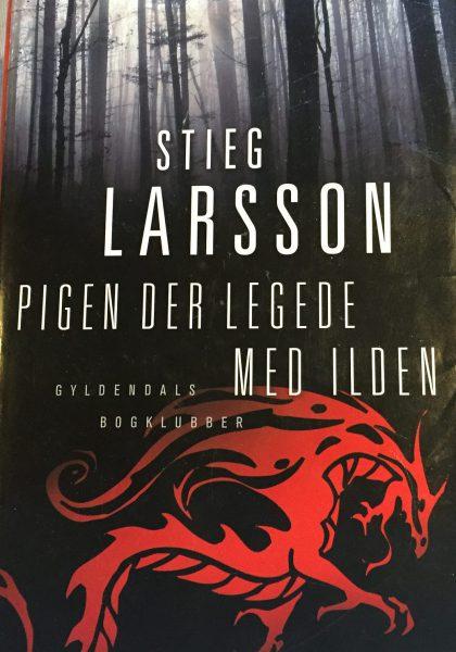 Pigen, der legede med ilden – Stieg Larsson