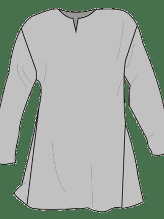 Linen shirt. Linskjorte.
