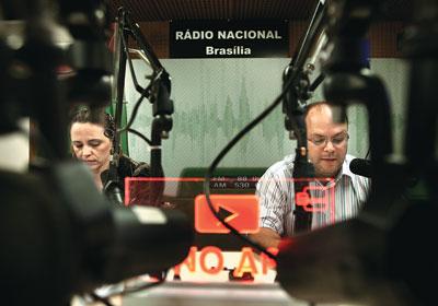 Geração da Voz do Brasil na Rádio Nacional - Brasília