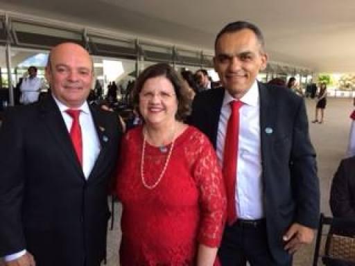 odacy na posse de Dilma