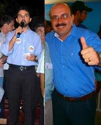 os 3 candidatos