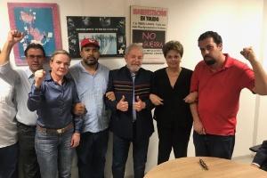 Resultado de imagem para Lula está na sede do Sindicato dos Metalúrgicos de SP