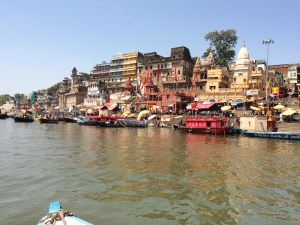 The Ganges at Varanasi photographed by Alan King and Phillip Azevedo