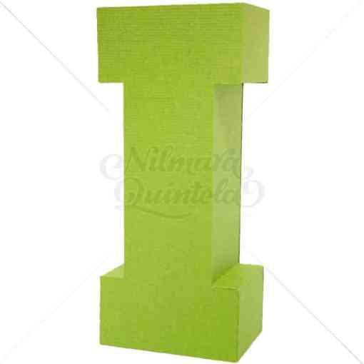 Letra Quadrada 3D I