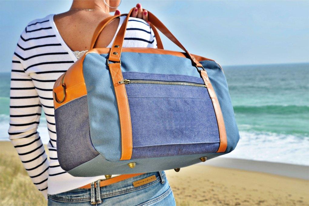 sac voyage cabine NILS & EMI