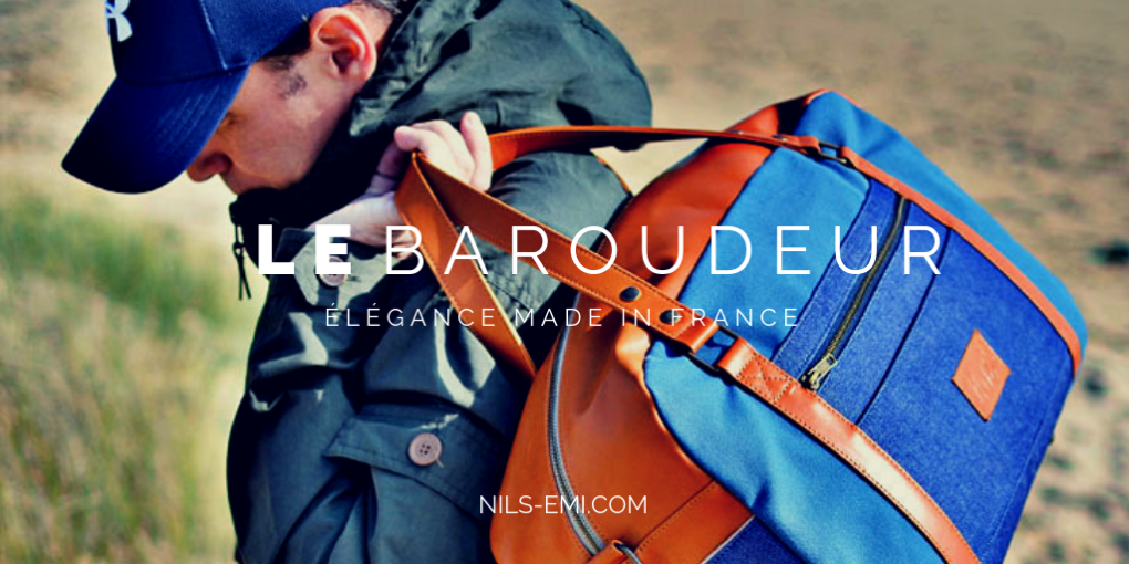 Nils & Emi collection baroudeur bagagerie made in france
