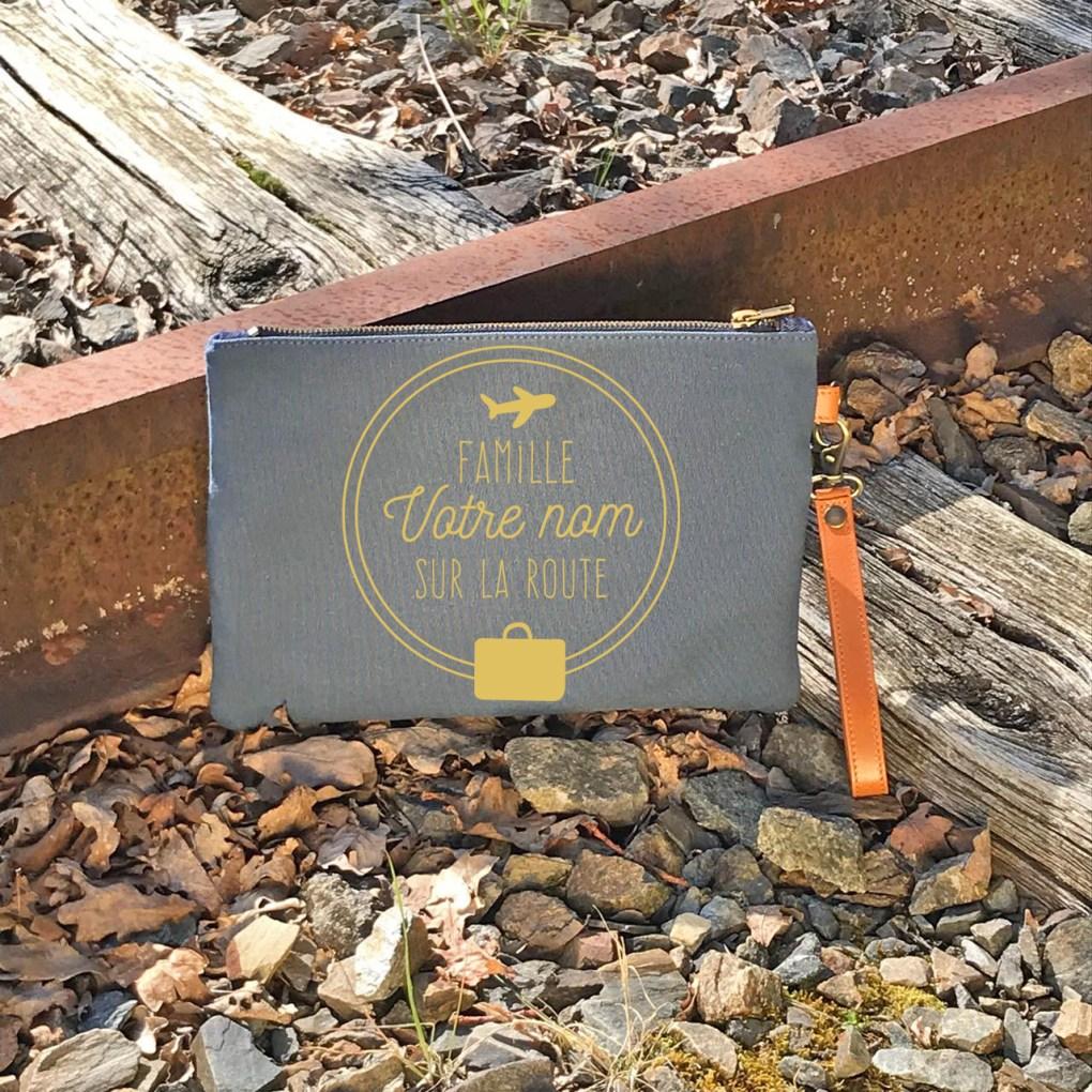 pochette voyage made in france Nils & Emi