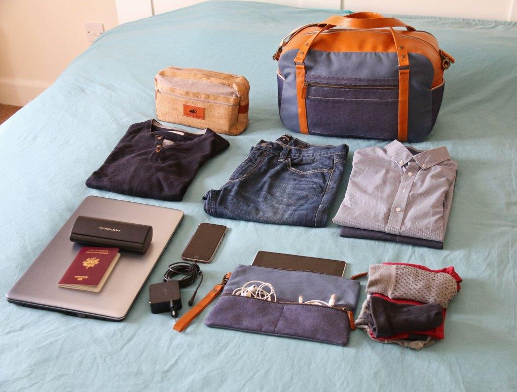 capacité sac cabine Nils & Emi maroquinerie française