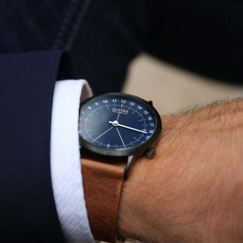 montre 24h Gustave & Cie