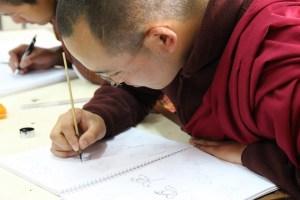 Bhoutan, école d'artisanat