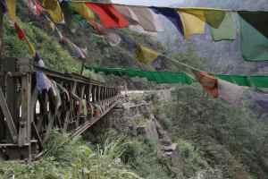 au départ de Gangtok, une excursion vers le nord Sikkim