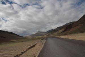 sur la route Leh Manali