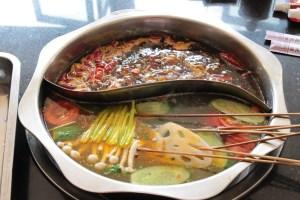 nourriture chinoise, fondue