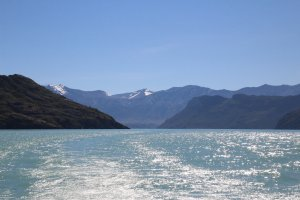 vers le glacier O'Higgins, Villa O'Higgins