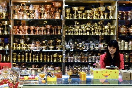 marché tibétain de Xining