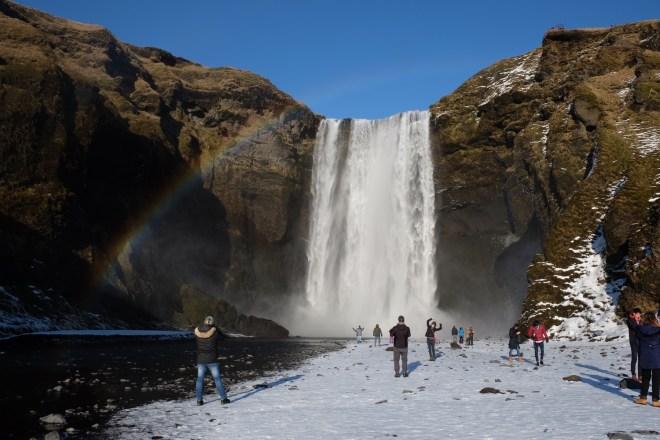 Islande, Skogafoss